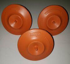 SCHUTT Base Rceptacle Anchor Plugs           (3 per set) Mushroom Style