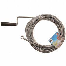 Rohr-Reinigungsspirale 10m mit Handgriff mit 20mm Spiralkopf
