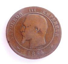 NAPOLEON III 10 centimes 1854 K
