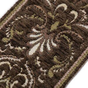 Wide Tapestry Jacquard Fabric Ribbons 85mm x 1M Trim Edge Decor High Quality UK