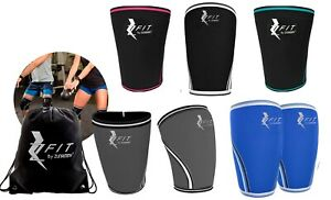 Zfit Neoprene Compression Knee Sleeve Weightlifting, Injury Recovery ( 2 Pack )