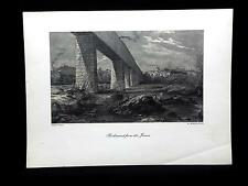 "Antique Print RICHMOND FROM THE JAMES 9""x12"" Harry Fenn R Hinshelwood"