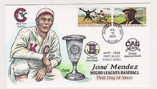 COLLINS HAND PAINTED FDC 2010 JOSE MENDEZ