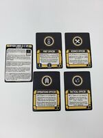 Star Trek Attack Wing (WizKids) OP Officer Cards NEW