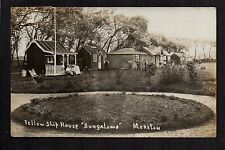 "Moreton - Fellowship House ""Bungalows"" - real photographic postcard"