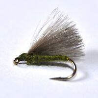 5 Variations Denmark 1 Doz CDC F-Fly Size 16# Top Quality A-Jensen Flies