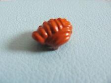 LEGO 43751 @@ Minifig, Headgear Hair Wavy @@ DARK ORANGE @@ ORANGE FONCE