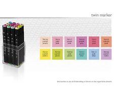Touch Twin Marker 12er Set Pastel Set Pastelfarben