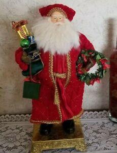 "TRADITIONAL TIDINGS TOO Christopher Radko 87/2500 CHRISTMAS 20""TABLETOP ORNAMENT"