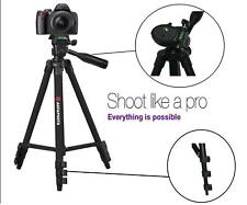"50"" Agfaphoto Pro Tripod With Case For Canon VIXIA HF R80 R82 R800"
