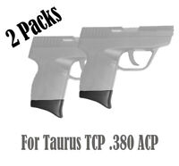 Pack of 2 Grip Extensions for Taurus TCP .380 ACP (380ACP/ 2PCS)