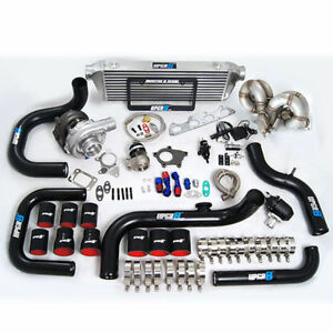 Civic Integra B-series B16 B18 B20 T3 T3/T4 Turbo Kit Keep AC and Power Steering