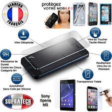 Protection d'Ecran en Verre Trempé Contre les Chocs pour Sony Xperia M5
