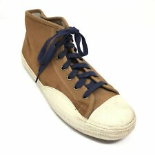 Men's Tretorn Racket H Mid Top Shoes Sneakers Size 10.5 M Brown Suede Casual I1