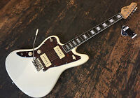 Left Handed Revelation RJT60 Jazzmaster Electric Guitar Vintage White Set Up
