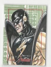 Yellowjacket 2012 Marvel Greatest Heroes Avengers Sketch Card Arley Tucker 1/1