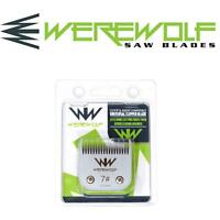 Werewolf Professional Dog Clipper Blades Size 7 3.2mm Fits Oster, Andis