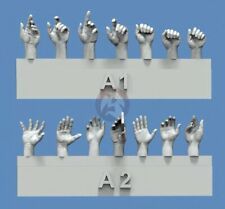 Royal Model 1/35 Assorted Hands Set No.1 (7 Left & 7 Right, different poses) 839