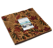 """Moda FABRIC Layer Cake ~ AUTUMN REFLECTIONS ~ by Holly Taylor 10"""" squares"""