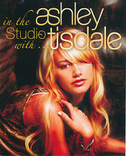 Ashley Tisdale In the Studio with... RARE promo booklet '06