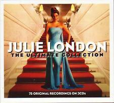 JULIE LONDON - THE ULTIMATE COLLECTION - 75 ORIGINAL RECORDINGS (NEW SEALED 3CD)
