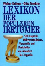"""""""Lexikon der populären Irrtümer"""" von Walter Krämer und Götz Trenkler"""