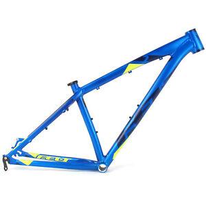 """2016 Felt 7 Alloy Matte Metal Blue 20"""" Large // Mountain Bike Frame Frameset"""