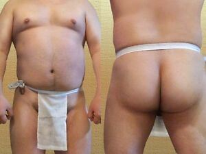Men Japanese Traditional 100% Cotton Underwear Adult Sagging Fundoshi