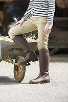 TOGGI TUCSON CHILDRENS LONG LEATHER RIDING BOOTS BLACK OR CHEECO PONY HORSE