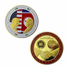 American Peace Talk Commemorative Coin Collection Souvenir Golden 2018