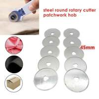 5/10/20Pc 45mm New Rotary Cutter Blades Refill Sewing Patchwork Fabric Cut Blade