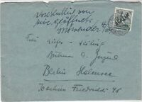Germany 1948 Berlin Overprint lady carrying Corn Stamps Cover Ref 24016
