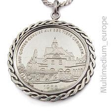 Medaille Nad Nauheim Herzheilbad Auf Gottes Geheiß aus der Tiefe geboren Silber