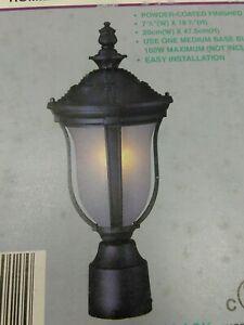 "Bel-Air Lighting 1-Light Outdoor  ROMILLY  Post  TOP LANTERN 183/4""H X77/8""W(21A"