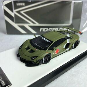 1/64 LB WORKS Lamborghini LP700 2.0 Zero Fighter Green Ltd 999 pcs