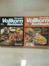 2 Bücher : Das große Vollkorn Kochbuch /Das große Vollkorn Backbuch