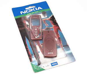 Original nokia 7210 Xpress-On Cover Housing Outer Case Battery Cover Red SKR-247