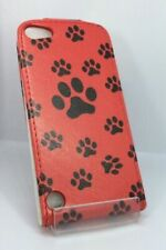 iPod Touch 5TH Generation Quality Leather Cute Sweet Vertical  Flip Case Cover