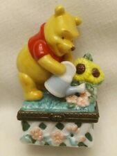 Winnie The Pooh Calendar Porcelain Trinket Box May