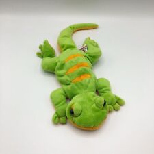 "Ganz Webkinz Lemon-Lime Gecko 13"" Plush Sparkly Belly Orange Green No Code"