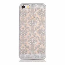 Silver Fitted Cases/Skins for Apple Phones