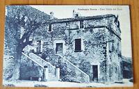 CARTOLINA PREDAPPIO NUOVA CASA 1933 VIAGGIATA NUMISMATICA SUBALPINA