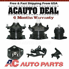 Engine Motor & Trans Mount 6Pcs For 2003-2008 Honda Accord 3.0L AT V6