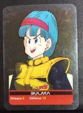 DRAGONBALL Z Lamincards n° 69 BULMA carte occasion Dragon Ball