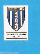 FOOTBALL CLUBS-PANINI 1975-Figurina n.249- UNIV.CRAIOVA ROMANIA -SCUDETTO-Rec