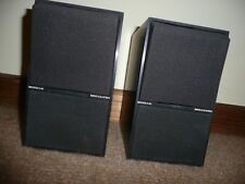bang & olufsen B&O black beovox c40 black speakers compact with original cables