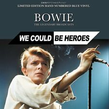DAVID BOWIE, WE COULD BE HEROES, LTD ED 1000 HAND NUMBERED BLUE VINYL (SEALED)