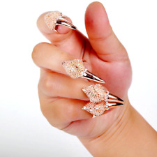 Eagle Claws Rings Adjustable Nail Finger Jewelry Ring Dress Up Punk Style