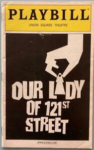 Philip Seymour Hoffman credited  director in this  Playbill  Our Lady of 121st