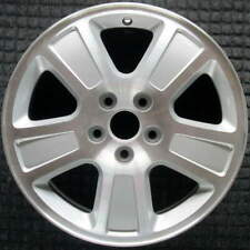 Ford Crown Victoria Square Cut In Spoke 17 inch OEM Wheel 2001 to 2011